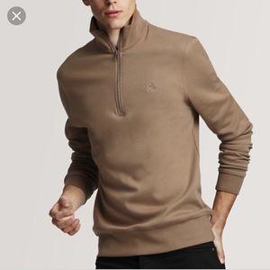 Burberry Brit men's half zip pullover
